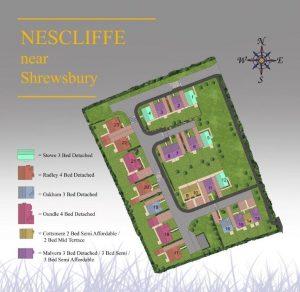Hopton Park Site Plan Nesscliffe